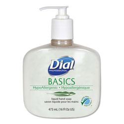 Dial Basics Liquid Hand Soap, Fresh Floral, 16 oz Pump Bottle