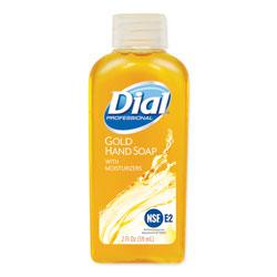 Dial Gold Antimicrobial Liquid Hand Soap, Floral Fragrance, 2 oz Bottle, 48/Carton