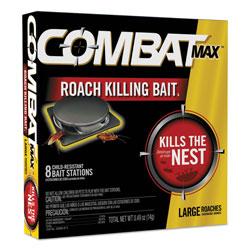 Combat Roach Bait Insecticide, 0.49 oz Bait, 8/Pack, 12 Pack/Carton