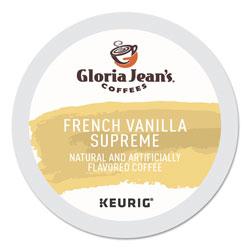 Gloria Jean's® French Vanilla Supreme Coffee K-Cups, 96/Carton