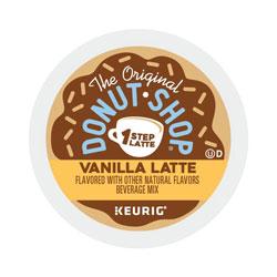 The Original Donut Shop® Vanilla One Step Latte, 20/Box