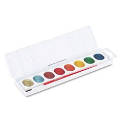 Prang Metallic Washable Watercolors, 8 Assorted Colors