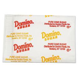 Domino Sugar Portion Packets, 0.1 oz Packets, 2000/Carton