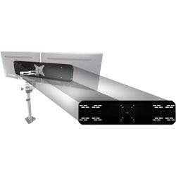Data Accessories Corp Single Arm Converter, f/24 in Monitors, 22lb Cap, Black