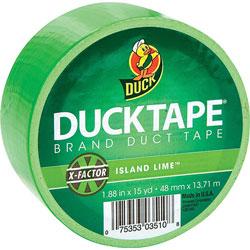 Duck® Duck Tape, 1.88 in x 15 Yards, Neon Green