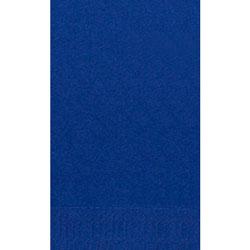 Duni 16 in x 16 in 1/8 Book Fold Napkins, 2-Ply, Dark Blue