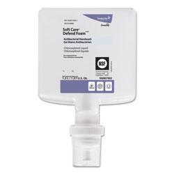 Diversey Soft Care Defend Foam Handwash, Fragrance-Free, 1.2 L Refill, 6/Carton
