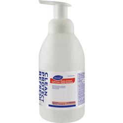 Diversey Soft Care Foam Instant Hand Sanitizer, 532mL Pump Bottle, Clear,Alcohol,6/Carton