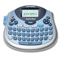 Dymo LetraTag 100T Label Maker, 2 Lines, 6 7/10w x 2 4/5d x 5 7/10h