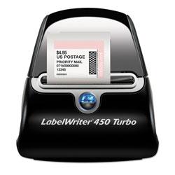 Dymo LabelWriter 450 Turbo Printer, 71 Label/Min, 5w x 7.4d x 5.5h