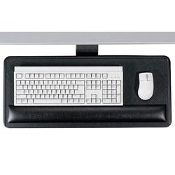 "Ergonomic Concepts Articulating Keyboard/Mouse Platform, 27""x12""x3/4"", Black"
