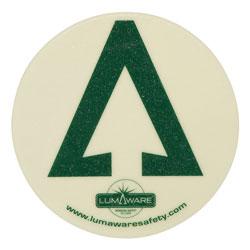 LumAware Illuminating Non-Removable Adhesive Floor Arrow