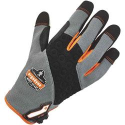Ergodyne 710 Utility Gloves, Small, 2/PR, Gray