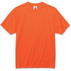 Ergodyne Non-Certified T-Shirt, Large, Orange