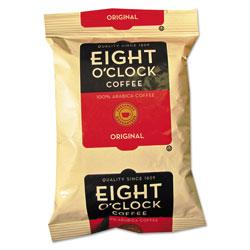 Eight O'Clock Regular Ground Coffee Fraction Packs, Original, 2 oz, 42/Carton