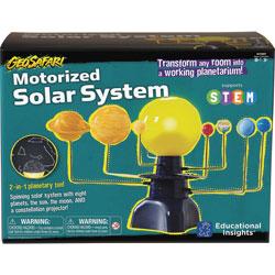 Educational Insights Motorized Solar System, 14-1/2 inWx8-1/4 inLx10 inH, Multi