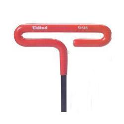 Eklind T-Handle Hex Key, Cushion Grip, 5/32 in, 9 in Long