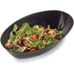 EMI Yoshi Serving Bowls, Salad, 1qt, Black
