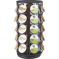 Mind Reader Coffee Pod Carousel, 6-1/10 inWx6-1/10 inLx12-1/4 inH, Black