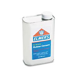 Elmer's Rubber Cement, 1 Quart Can