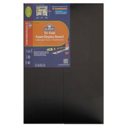 Elmer's CFC-Free Polystyrene Foam Premium Display Board, 24 x 36, Black, 12/Carton