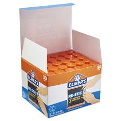 Elmer's Clear School Glue Stick, 0.28 oz, Dries Clear, 30/Pack