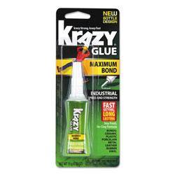 Krazy Glue Maximum Bond Krazy Glue, 0.52 oz, Dries Clear