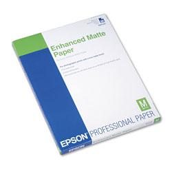 Epson Ultra Premium Matte Presentation Paper, 10 mil, 8.5 x 11, Matte White, 50/Pack
