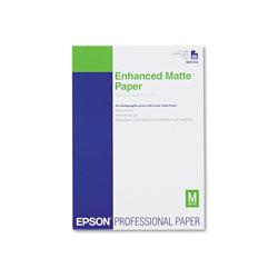 Epson Ultra Premium Matte Presentation Paper, 10 mil, 11.75 x 16.5, White, 50/Pack