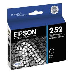 Epson T252120S (252) DURABrite Ultra Ink, Black