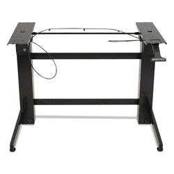 Ergotron WorkFit-B Sit-Stand Workstation Base, Heavy-Duty, 88 lbs Max Weight Cap, 42w x 26d x 51.5h, Black