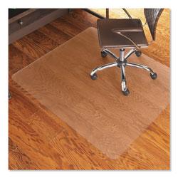 E.S. Robbins Economy Series Chair Mat for Hard Floors, 46 x 60, Clear