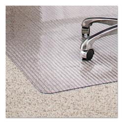 E.S. Robbins Dimensions Chair Mat for Carpet, 36 x 48, Clear
