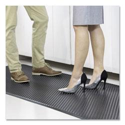 E.S. Robbins Feel Good Anti-Fatigue Floor Mat, Continuous Runner, 35 x 60, Black