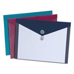 Pendaflex Poly Envelopes, Letter Size, Assorted Colors, 4/Pack