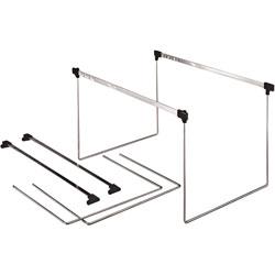 """TOPS Actionframe Drawer Frames, Adjustable 14"""" 18"""", Letter, Steel"""