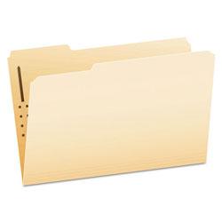 Pendaflex Manila Folders with One Fastener, 1/3-Cut Tabs, Legal Size, 50/Box