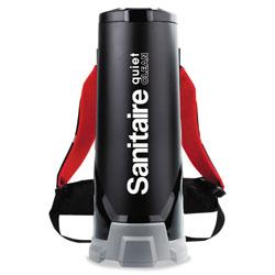Electrolux TRANSPORT QuietClean HEPA Backpack Vacuum, 10 qt, Black