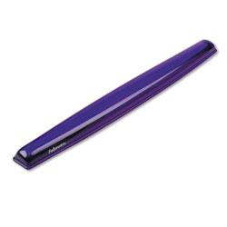 Fellowes Gel Crystals Keyboard Wrist Rest, 18.5 in x 2.25 in, Purple
