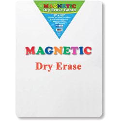 Flipside Magnetic Dry Erase Board, 9 in x 12 in, White