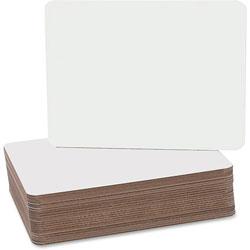 Flipside Dry Erase Board, 9-1/2 in x 12 in, 24/PK, White