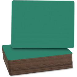 Flipside Chalkboard, 9-1/2 in x 12 in, 24/PK, Green