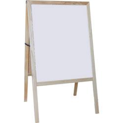 Flipside Signage Easel, Dry-Erase/Chalkboard, 24 inWx42 inH, Multi
