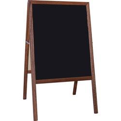 Flipside Signage Easel, Chalkboard, 24 inWx42 inH
