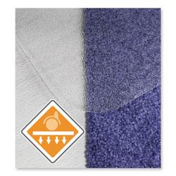 Floortex Cleartex Unomat Anti-Slip Chair Mat for Hard Floors/Flat Pile Carpets, 35 x 47, Clear