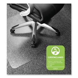 Floortex Cleartex Ultimat Polycarbonate Chair Mat for Low/Medium Pile Carpet, 35 x 47, Clear