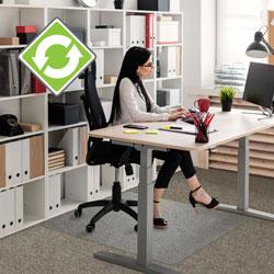 Floortex Evolution Chairmat, Rect, 30 in x 48 in, GNTN