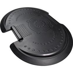 Floortex AFS-TEX 5000 Anti-Fatigue Mat, Bespoke, 26 in x 36 in, Black
