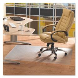 Floortex Cleartex Advantagemat Phthalate Free PVC Chair Mat for Hard Floors, 53 x 45, Clear