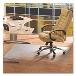 Floortex Cleartex Advantagemat Phthalate Free PVC Chair Mat for Hard Floors, 48 x 36, Clear